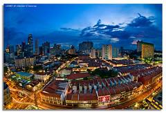 Planet Chinatown (DanielKHC) Tags: interestingness high nikon singapore chinatown dynamic explore range fp frontpage dri hdr d300 digitalblending nikkor105mmfisheye danielkhc