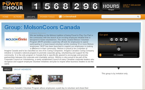 Power of the Hour - Molson Coors Canada