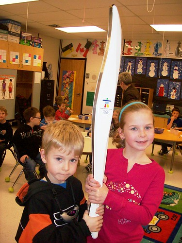 Olympic Torch in Our Classroom