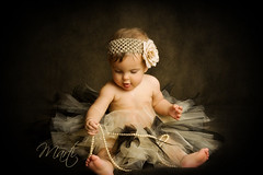 Playing with Pearls (FLPhotonut) Tags: portrait baby pearls tutu headband sayler visiongroup flphotonut interfit150exmkii