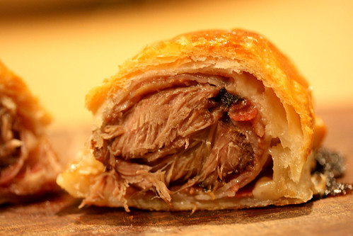Pig cheek wellington cross section 2