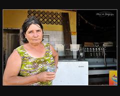 A Sra Ilda de Fatima do açougue próximo ao mercado (FOTÓGRAFAS) Tags: água de para doe material botas móveis ferramentas construção mangueiras borrachas mantimentos eletrodomésticos