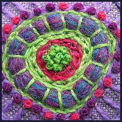 Embroidery details (Birthine) Tags: detail embroidery details button stitching knap bordado sticken stickerei broderie borduren detalje broderi brodera brodere