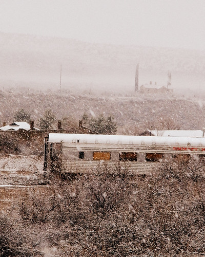 Snow day in Clarkdale Arizona