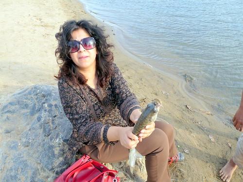 Catching a Mahseer