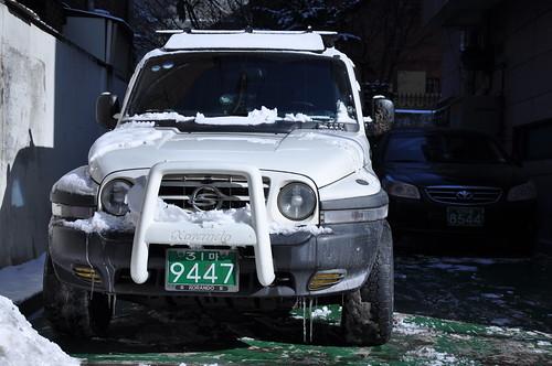 Nieve en Seúl