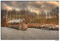 Viking village Risby 04 (René Eriksen) Tags: winter color canon denmark photography photo viking hdr vikingvillage canoneos1000d dragondaggerphoto hdrslide