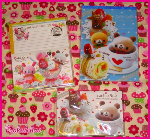 Kawaii Ya Goodies~ Cafe Cafe Stationery