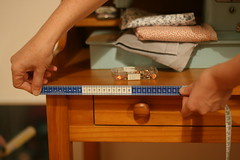 Usando a fita métrica