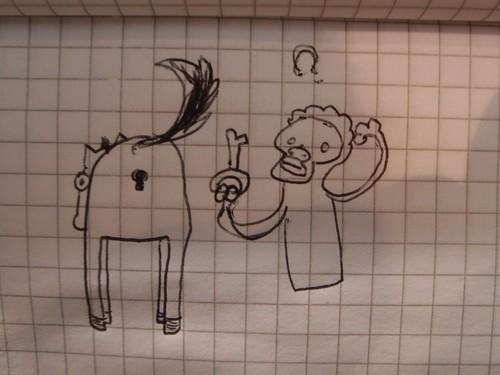 Key, Monkey, Donkey