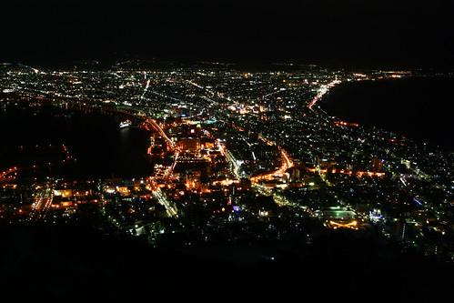 傳說中的世界三大夜景之一
