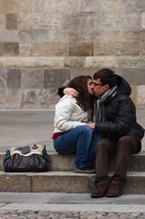 Baciami... Ancora? (Big Mico) Tags: italy kiss italia young again bacio emiliaromagna giovani baciami