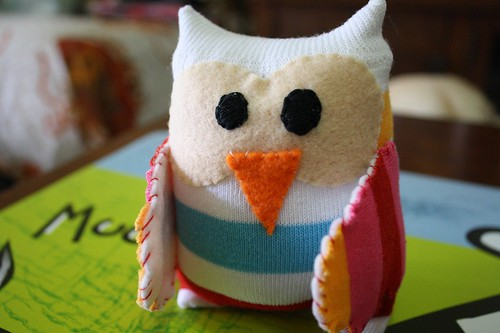 Tutorial :: Sock Owl 19