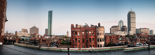 Back Bay from a Roof Deck