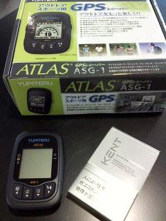 ユピテル・GPSロガーASG-1