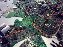 Teknostadi (/kallu) Tags: miniature helsinki circuitboard computerparts teknostadi jussiseppänen