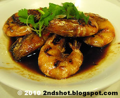 Soy Sauce Prawn from Roland Restaurant