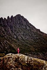 The Teletubbie of Cradle Mountain (murphyeppoon) Tags: mountain rock australia teletubbies cradle glacial