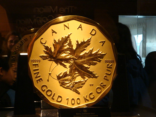 Royal Canadian Mint Pavilion - Million Dollar Coin - tails