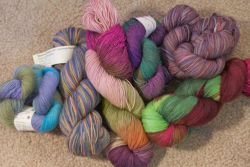 Ripple Sock yarn choices