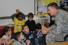 Read Across America , Vicenza, Italy - US Army - 100302 (US Army Africa) Tags: africa school america army general united read garrett states across elementary vicenza caserma ederle