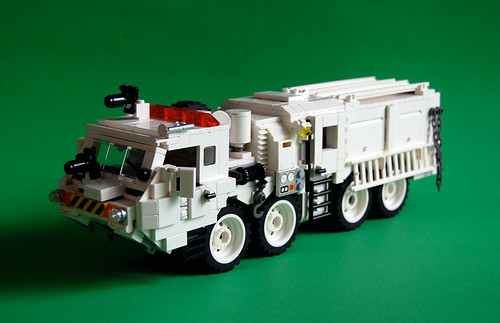 LEGO 8x8 tactical fire fighting truck