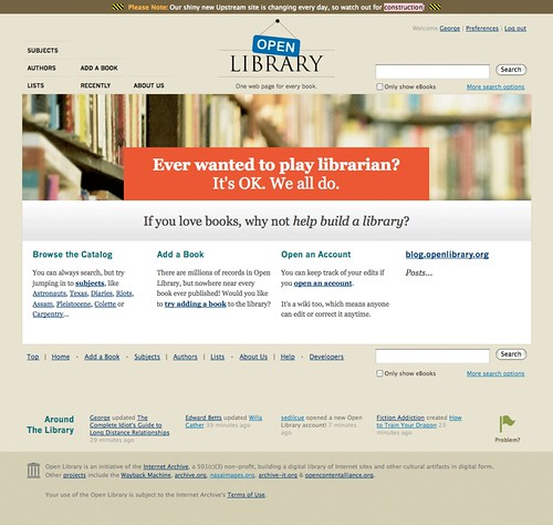 Announcing the Open Library redesign!