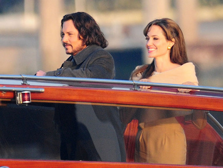 barco Johnny Depp y Angelina Jolie The Tourist