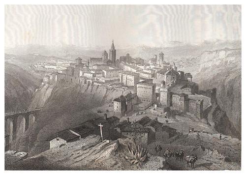 010-Cuenca-Voyage pittoresque en Espagne et en Portugal 1852- Emile Bégin