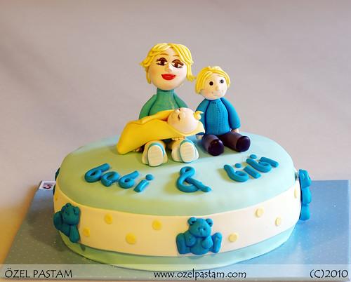 Hoşgeldin Bebek Pastası / Welcome Baby Cake