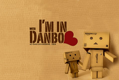 In love with Danbo (Michele Cannone) Tags: love badge danbo
