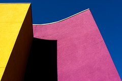 17 (booksin) Tags: abstract newmexico color building yellow architecture purple albuquerque dukecity structure minimal line abstraction form minimalism shape minimalistic booksin extractivereductionism copyrightbybooksinallrightsreserved