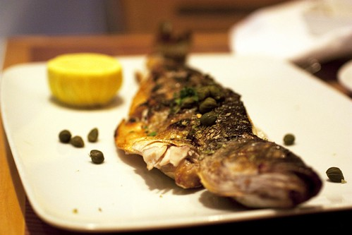 First dinner at pylos nyc bionic bites branzino pylos publicscrutiny Image collections