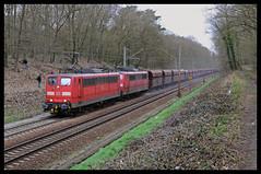 DBS 151 113 + 151 165 (Hugeau) Tags: holland train nederland eisenbahn rail cargo freight trein dbs freighttrain treni railion goederen schenker goederentrein guterzug goederntrein dbschenker