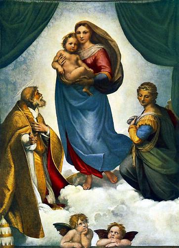 Raphael - The Sistine Madonna