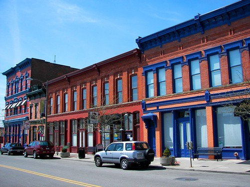 South St. Clair Street in Toledo's Warehouse District