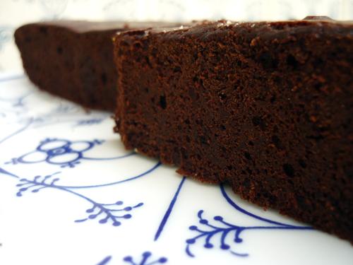 torta al cacao {sans beurre}