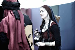 Wine Your Majesty (Benjamin T. Vu) Tags: middleeast arab renaissancefaire victorians irwindale arabians f28lens arabianwomen nikond3 renaissanceeras nikon70200f28afslens