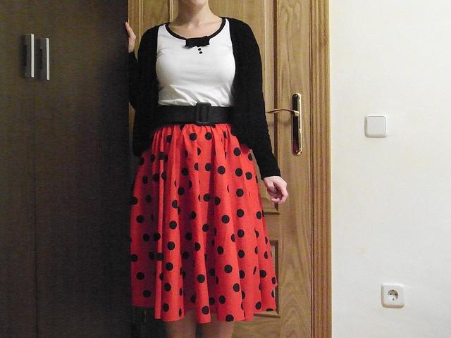 falda mariquita