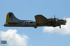 N390TH - 42-97849 - 44-85734 - Liberty Foundation Inc - Liberty Belle - Lockheed Vega Boeing B-17G-105-VE Flying Fortress B-17 - Duxford - 080704 - Steven Gray - IMG_2931