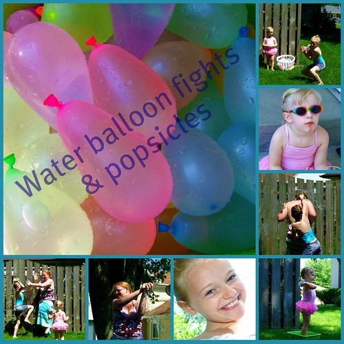 waterballoon collage