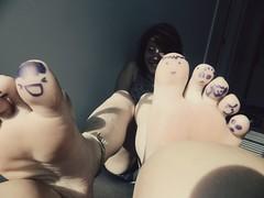 Cute Toes (Zoe McCauley) Tags: cute toes edited doodles