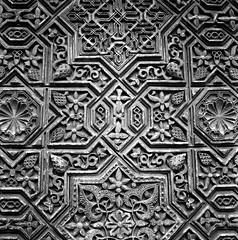 Islamic Geometry Again (JadedEvan) Tags: film spain honeymoon islam alhambra bronicasqa ilfordxp2super400 ps80mm