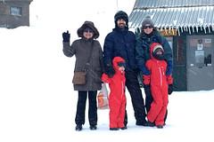 Family in the Snow (RobW_) Tags: ski centre kalavryta peloponnese greece tuesday 14feb2017 february 2017