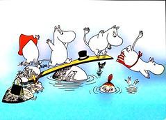Nowy Dokument 13 (JustynaJustys) Tags: moomins muminki kreskówki bajki cartoons art sztuka