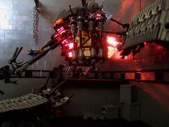 cornered6 (Rogue Bantha) Tags: robot lego mech battlebot