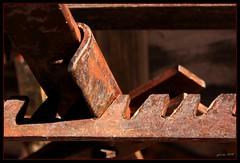 Wagon Brake - Hubbell Trading Post, AZ (the Gallopping Geezer 3.3 million + views....) Tags: arizona wagon rust brake geezer hubbelltradingpost