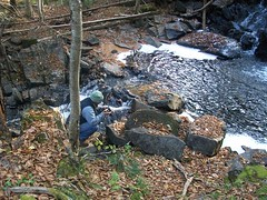 At Gales Brook Falls (ems18) Tags: fall maine waterfallhike piscataquiscounty soulesailor