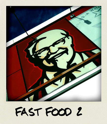 Kentucky Fried Chicken -  Taken With An iPhone