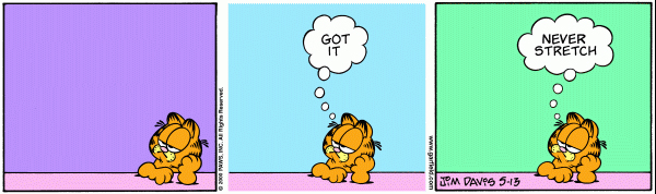 Garfield Minus Arbuckle, May 13, 2000
